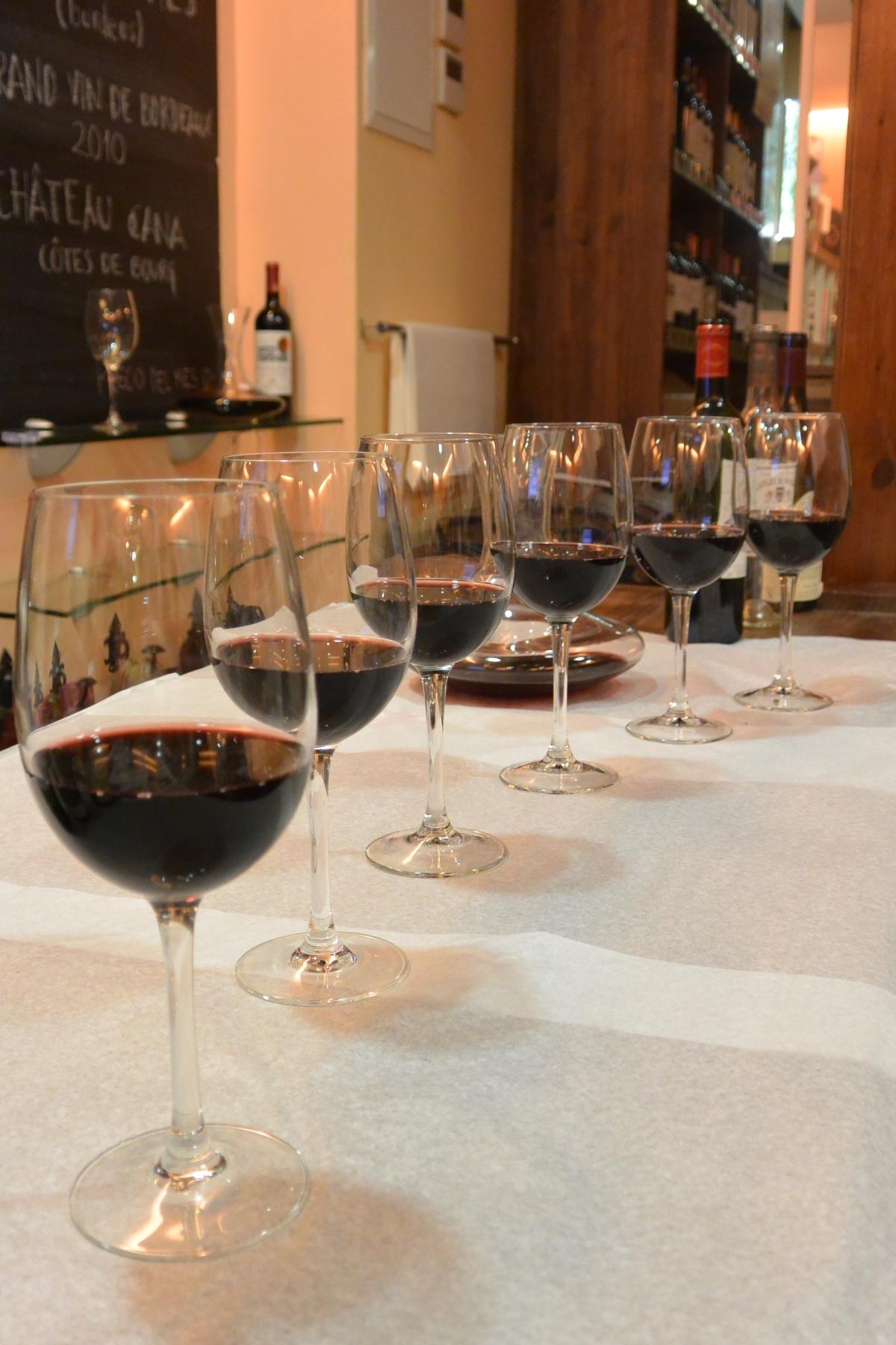 Una cata de vinos franceses en el centro deMadrid