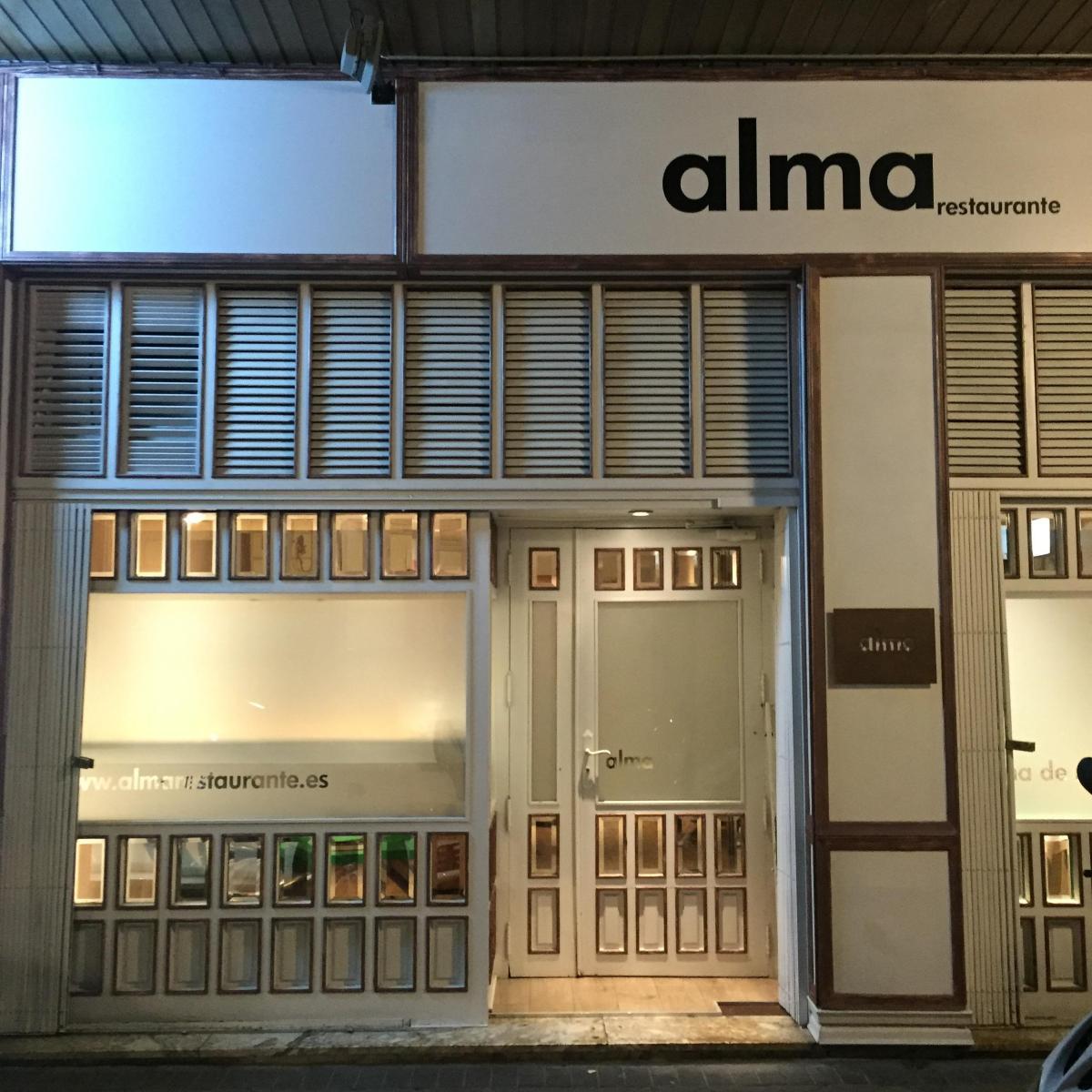 Alma, un restaurante que no te puedesperder